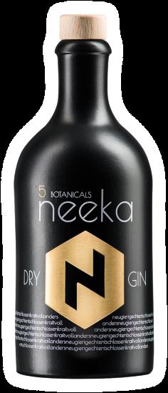 Neeka Dry Gin Flasche